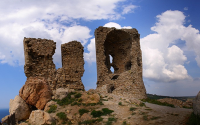 Крепость Чембало, Генуэзские башни